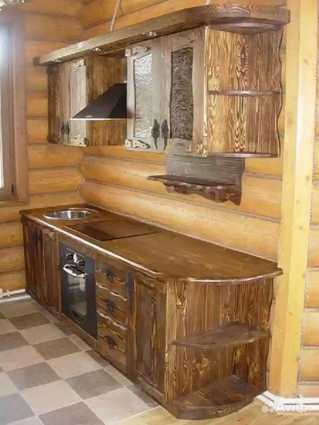 Кухня под старину 10 - мебель амк.