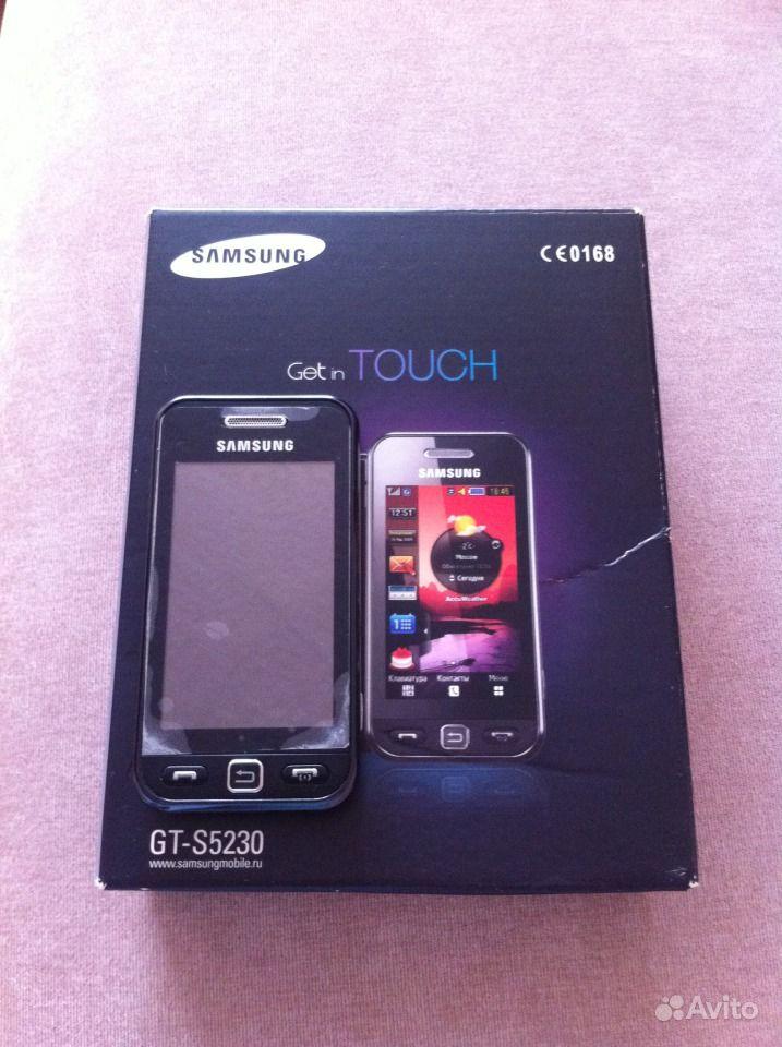 Samsung s5230: сила прикосновения
