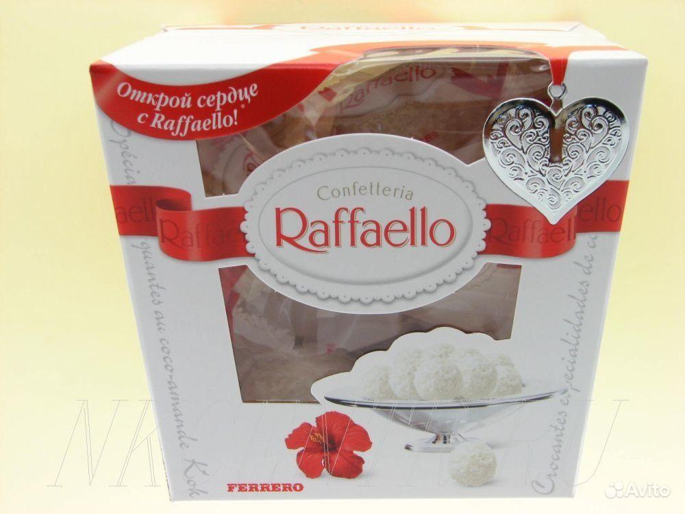 Набор конфет raffaello от итальянского производителя кондитерской продукции ferrero