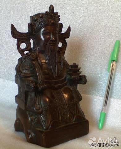 Будда бог богатства Цай Шэнь, фэн шуй купить в Москве на Avito ...
