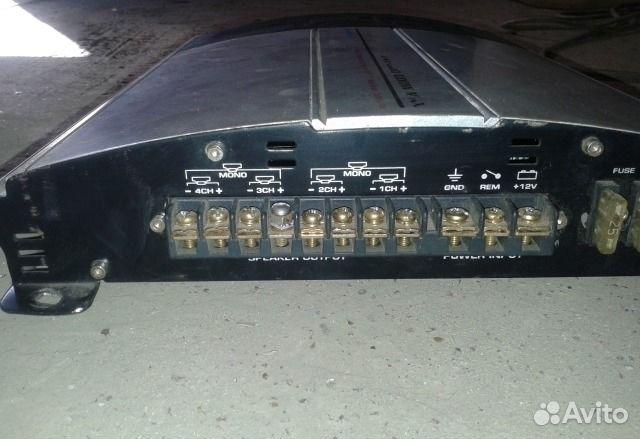 Усилитель soundstream Z4X800