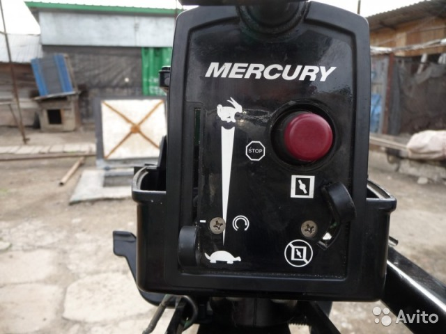 конструкция лодочный мотор меркурий