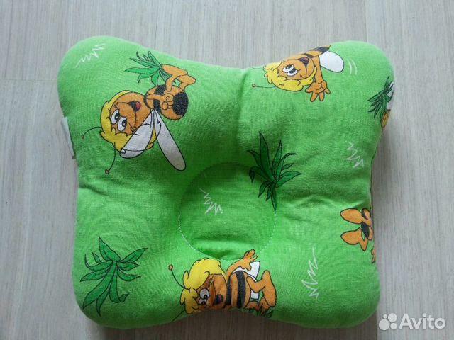Ортопедическая подушка под голову для детей