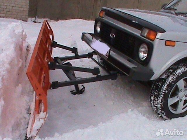 Снегоуборочная на ниву как сделать
