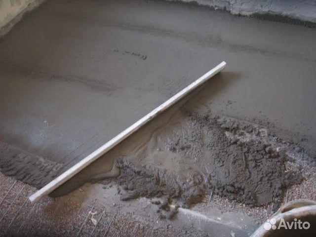 Залить пол в гараже пропорции смеси