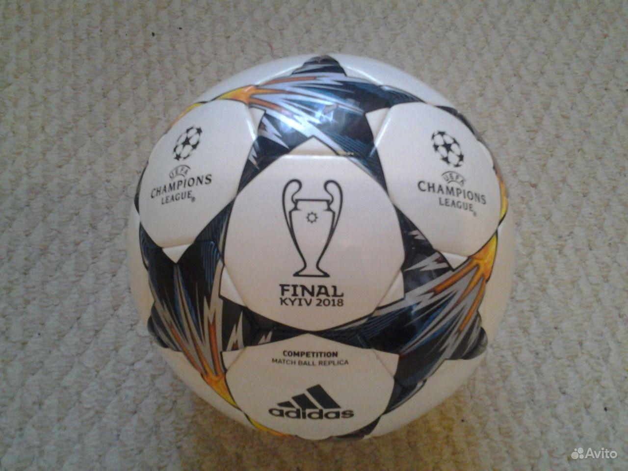 Футбольный мяч adidas champions league 2018 e8a3f89e04da6