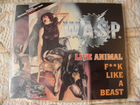 W. A. S. P. Live Animal CD 3 track Music for wasp
