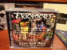 Ektomorf-Live And Raw CD+ DVD metal