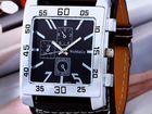 Большие квадратные мужские часы