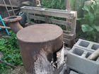 Печь. печь из трубы. для бани