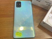 Смартфон Samsung Galaxy a71sm-a715f/dsm синий