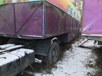 Вагончик - бытовка на колёсах (шасси ) 12 метров