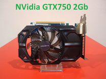 Видеокарта NVidia GeForce GTX750 2Gb Gigabyte — Товары для компьютера в Брянске