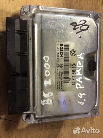 Управление двигателем Фольксваген 038906019CD— фотография №1