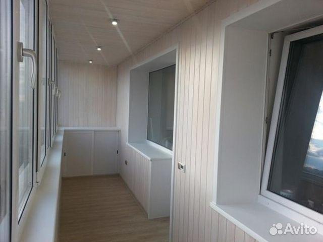 Услуги - качественная отделка балконов и лоджий в Ярославско.