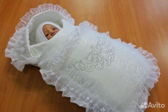 Вещи для малыша на выписку из роддома набор, комплект