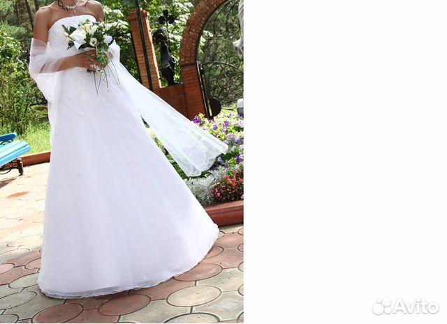 Свадебное платье на авито тольятти