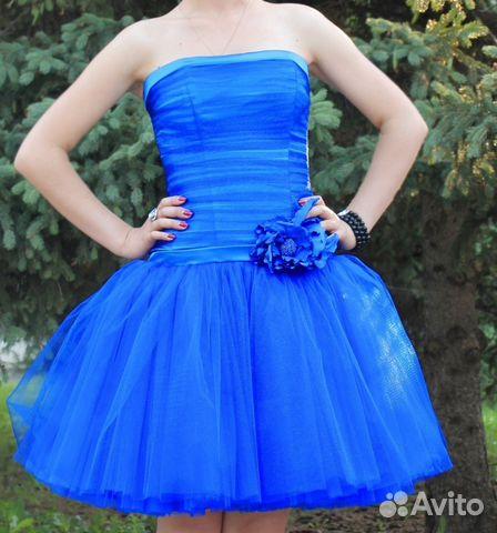 f4658fc601b Прокат и продажа платья синее вечернее
