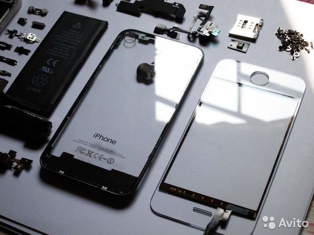 замена стекла iphone 5 киров