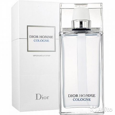 Christian Dior Homme Cologne 125 ml Made in France— фотография №1