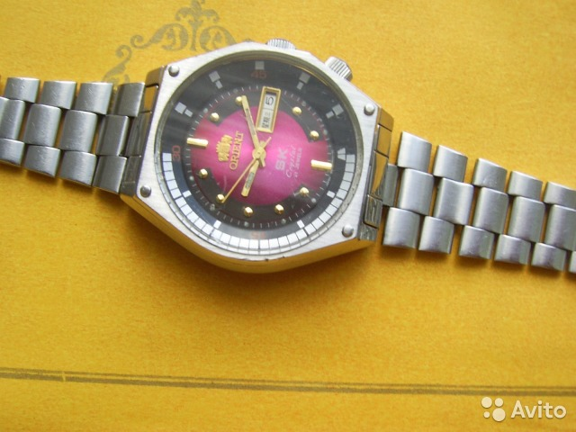 Orient Vintage Mens 21 Jewels Automatic 1970s Stainless