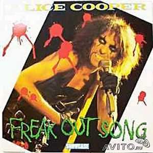 Alice cooper -Freak Out Song-LP— фотография №1
