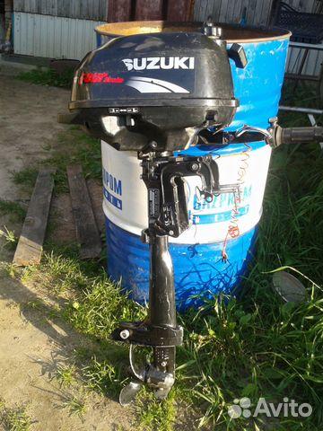 2 х тактные лодочные подвесные моторы suzuki