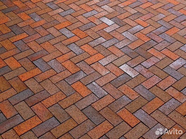 плитка клинкерная тротуарная фото