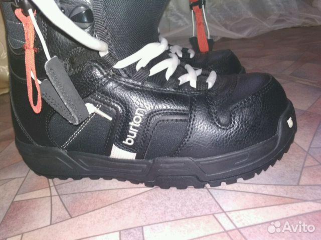 Продам ботинки для сноуборда Burton купить в Ивановской области на Avito —  Объявления на сайте Avito 5a4987356d5