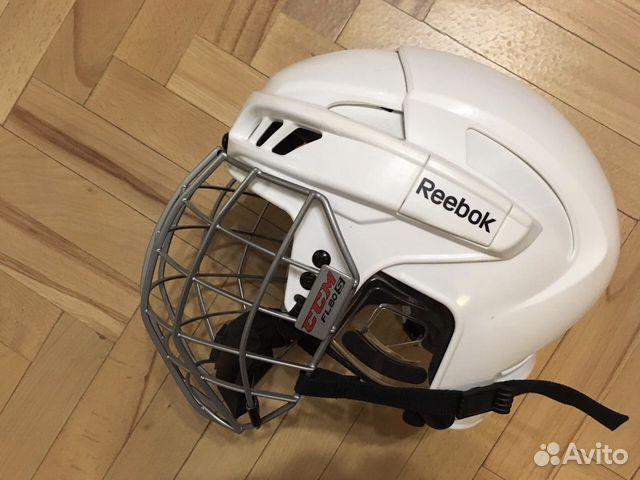 Шлем хоккейный reebok 11k с маской купить