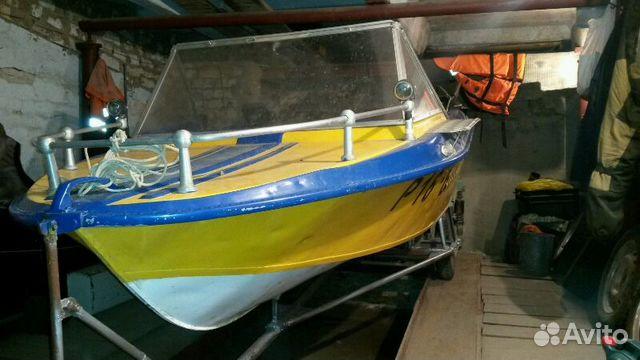 продажа лодок крым на авито