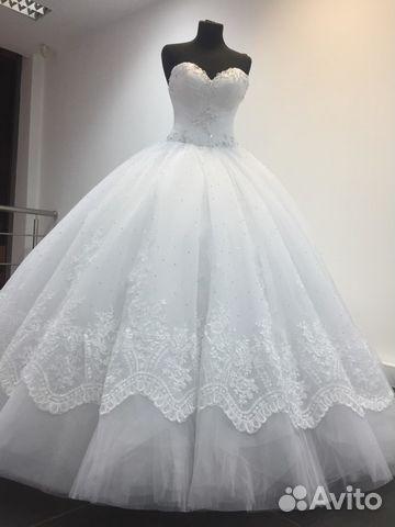 Продаж свадебных платьев на авито