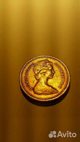 1 Фунт 1983 год английская монета   Festima.Ru - Мониторинг объявлений d6df2e340f2