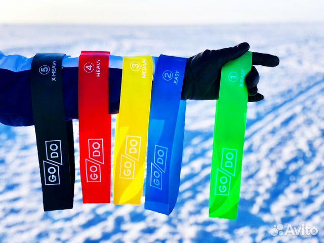 Резинки для фитнеса 5 шт. купить в Володарске