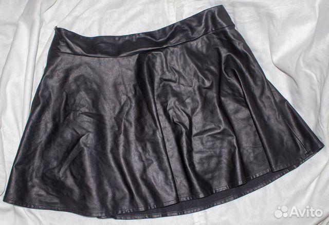 30dd9b121e2 Кожаная юбка клеш р. 56 купить в Ярославской области на Avito ...