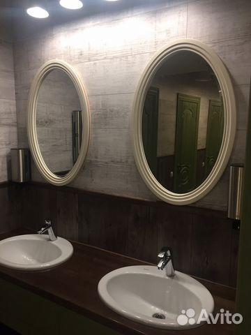 b38b84079c38 Зеркало в белой раме овальное. В стиле прованс купить в Москве на ...