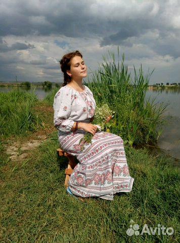 f95d624d4cd Платье в деревенском стиле напрокат купить в Москве на Avito ...