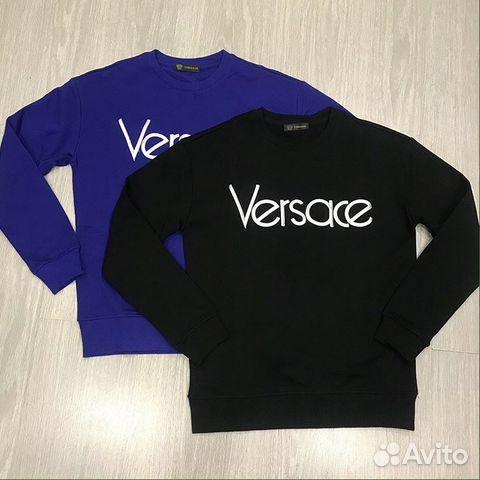 Свитшот Versace купить в Москве на Avito — Объявления на сайте Авито da0fee5f4bf