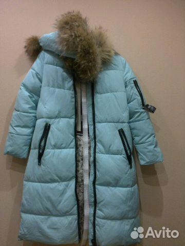59fa1d32c4f Пальто зимнее для девочки б у р.140