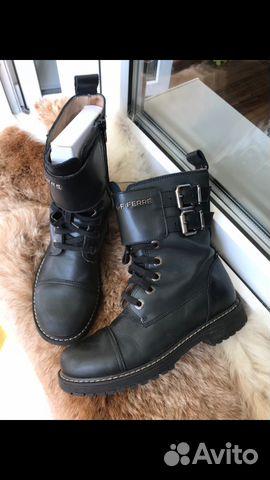 369187a73 Gianfranco Ferre (Оригинал) Италия крутые ботинки купить в Москве на ...