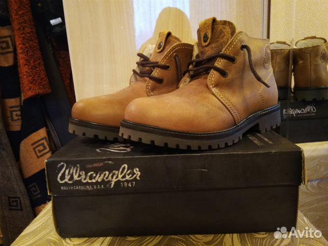 157913a25 Мужские зимние ботинки Wrangler. Натуральная кожа— фотография №1