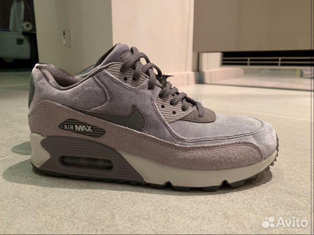 fbd5efed Кроссовки Nike бархатные серые | Festima.Ru - Мониторинг объявлений