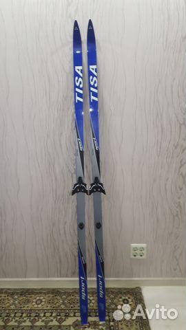 Продам комплект беговые лыжи + ботинки купить в Пензенской области ... 33471d2f324