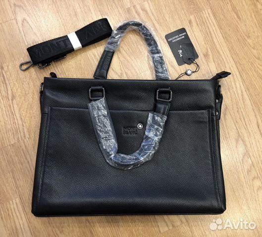 681788d661f5 Мужская сумка для документов, портфель Mont Blanc | Festima.Ru ...