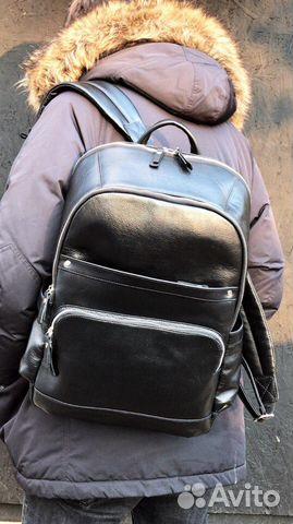 b775238ccaa0 Кожаный мужской рюкзак. Ручная работа. Новый купить в Москве на ...