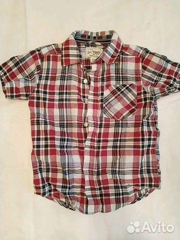 26f54b3cd74 Рубашка с коротким рукавом для мальчика р. 104