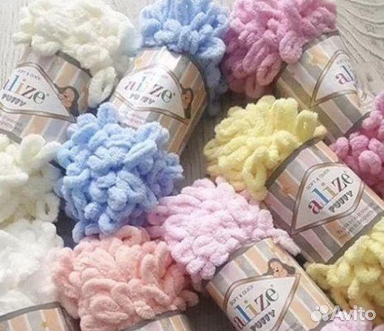 пряжа Alize Puffy ализе пуффи для вязания руками Festimaru
