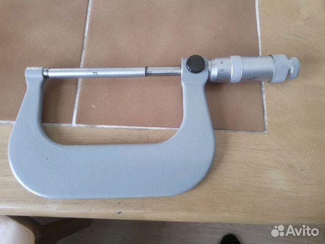 Микрометр от 75 мм + 89619414522 купить 1
