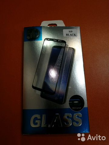 89107311391 Стекло защитное 5D SAMSUNG S9 black