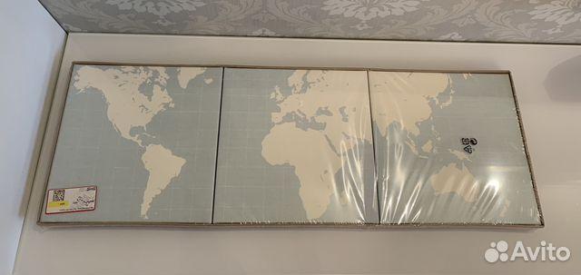 картина карты икеа Ikea новая купить в санкт петербурге на Avito